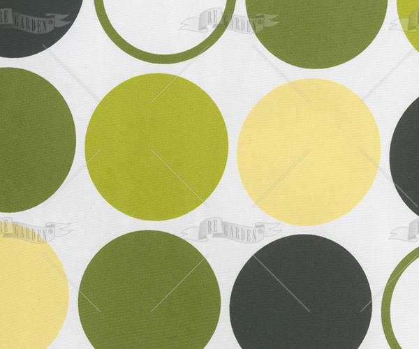 Pillow rettangolare Bolle Verdi - 2